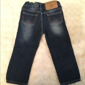 True Religion Toddler Girl Jeans Size 2T Slim